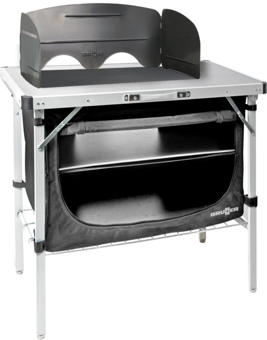 Mobile cucina Chuck box black